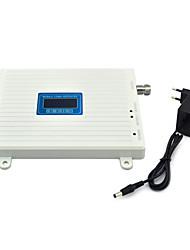Telefone celular cdma 800mhz 850mhz dcs 1800mhz amplificador de repetição de sinal de reforço de sinal com fonte de alimentação lcd