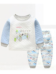 Baby Kids' Casual/Daily Geometic Clothing Set Winter Fall/Autumn