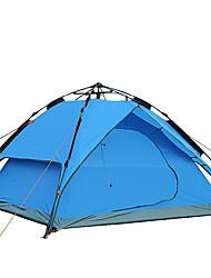 3-4 человека Аксессуары для палаток Навесы и капюшоны Двойная Палатка Складной тент С защитой от ветра Дышащий Складной Световой тент На