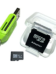 32gb microsdhc tf карта памяти с 2 в 1 usb otg card reader micro usb otg