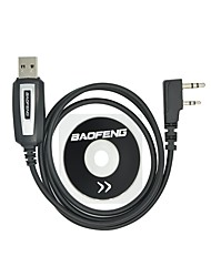Professional USB Programming Cable with CD Baofeng UV-5R UV-5RA UV-B5 UV-82 BF-888S BF-666S for Portable Radio