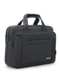 Men Bags All Seasons Oxford Cloth Laptop Bag with Zipper for Casual Outdoor Office & Career Gray