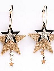 Women's Drop Earrings Jewelry Basic Tassel Fashion Alloy Star Jewelry For Gift Daily Date Holiday Going out