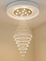 Contemporary LED Crystal Ceiling Pendant Lights Modern Chandeliers Home Hanging LED Lighting Chandelier Lamps Fixtures
