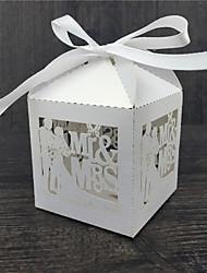 50 Фавор держатель-Кубик Розовая бумага Коробочки