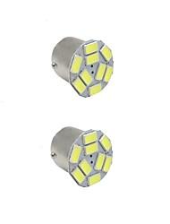 2pcs 3.5w blanc dc12v 1156 1157 bay15d 9led 5730smd led auto lampes clignotants de voiture haute qualité bay15d