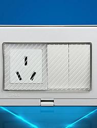 Enchufes electricos PP Con interruptor 9*12*5