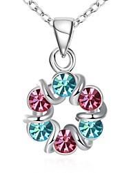 Жен. Ожерелья-бархатки Ожерелья с подвесками Ожерелья-цепочки Цирконий Стразы В форме банта Геометрической формы Циркон Цирконий Стразы