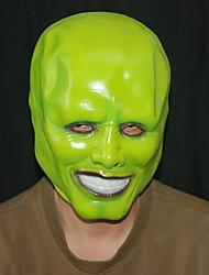 Fones de ouvido engraçados de Halloween simulando filmes e personagens de televisão disfarçados geek kim kerry máscara natural de látex