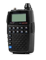 Tyt th - uv3r vhf / uhf двухдиапазонная программируемая радиостанция двухсторонняя радиоприемник fm приемопередатчик портативный домофон