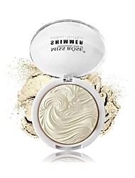 6 Highlighters/Bronzers Dry Shimmer Pressed powder Face China