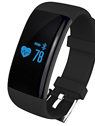 Smart Bracelet iOS AndroidWater Resistant / Water Proof Pedometers Sports Heart Rate Monitor Touch Screen Alarm Clock Light and