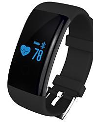Pulsera Smart iOS AndroidResistente al Agua Podómetros Deportes Monitor de Pulso Cardiaco Pantalla táctil Despertador Información Ligero