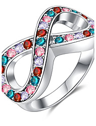 Midi Rings Band Rings Women's Fashion Multicolor 8 Style Rings For Birthday Wedding Party Movie Gift Jewelry