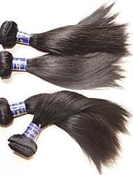 Vente en gros paquets de cheveux en soie péruvienne de qualité supérieure 6pcs 600g lot pour deux têtes installés 100% vrais cheveux