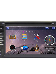Rungrace 6.2inch Double DIN GPS Navi Bluetooth Radio Universal Car Dvd Player RL-261WGN02