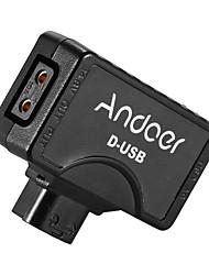 andoer d-tap to 5v usb adapter connector для v-mount камеры для видеокамер для монитора смартфона bmcc