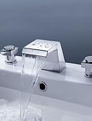 poignée de cristal répandue navire salle de bains robinet d'évier lavabo vanité mitigeur lavabo robinet