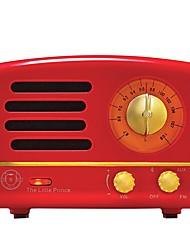 MAO KING MW-2A Radio portatil Bluetooth Rojo