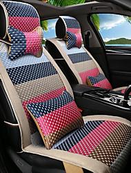 мультфильм радуга кожа шелк материал автомобильное сиденье подушка сиденье покрытие сиденье четыре сезона общий все вокруг-3 #