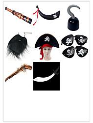 Декорации Маски на Хэллоуин Товары для Хэллоуина Аксессуары для Хэллоуина Ацетат / пластик Все возрастные группы