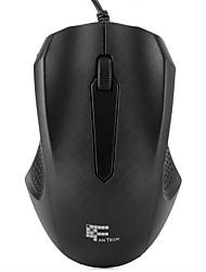 fantech t530 ratón con cable de la oficina 3 botones ratón óptico del ordenador con 1000dpi