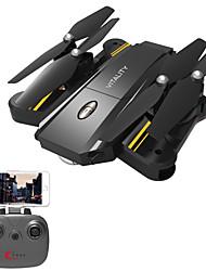 Drone TK116 4 Canaux 6 Axes Avec l'appareil photo 0.3MP HD Tenue de hauteur WIFI FPV Caméra grand angle Retour Automatique Auto-Décollage