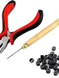 Щипцы Крючковые иглы для наращивания Микрокольца Инструменты парики