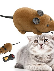 Mini Remote Control RC Mouse Mice w/ Remote Controller Toy Gift for 3 Year Kids Children Grey