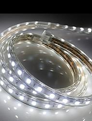 1M   Higt Bright LED Light Strip Flexible 5050 smd Three crystal Waterproof light bar garden lights With EU Power Plug