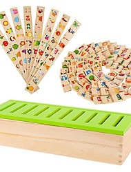 домино деревянные игрушки знания обучение форма классификации коробка детский сад учебные пособия jj7701-0525