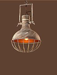 tienda de ropa estilo industrial vintage lámpara de hierro arte nostálgico l barra de café creativo personalidad malla tapa tapa lámpara