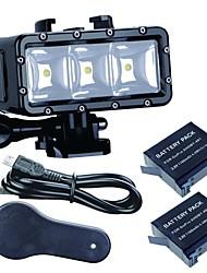Imperméable Spot LED Imperméable Pour Tous Xiaomi Camera SJCAM Sports Nautiques Plongée Snorkeling