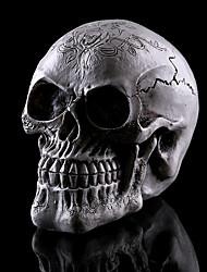 1pc halloween résine maison du crâne échappe décorations d'horreur décorations