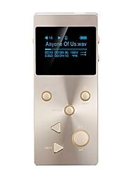 De alta fidelidadPlayerNo Conector 3.5mm Tarjeta TF 128GBdigital music playerBotón