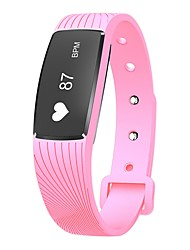 YY D08A Smart Bracelet Water Resistant / Calories Burned Pedometers Exercise Record Sports Heart Rate Monitor Touch for Ids Android