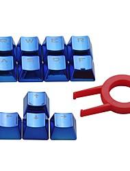 Электронные элементы с двойным выстрелом pbt keycaps 12 конвертированные крышки с подсветкой для вишневых переключателей механические
