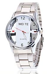 Mulheres Relógio Elegante Relógio Esqueleto Relógio de Pulso Chinês Quartzo Mostrador Grande Lega Banda Pendente Casual Elegantes Preta