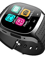 время владелец m26 Bluetooth часы smartwatch android носимые устройства социальное приложение / напоминание о вызове