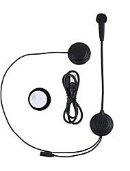 Motocicleta E200 V4.2 Auricular y Micrófono Bluetooth Pendiente de estilo colgante Transmisores FM Puerto USB Reproductor MP3