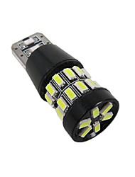 2pcs t10 360 градусов освещение 5w постоянный ток can-bus ошибка бесплатно t10 светодиодная лампа с суперматериалом