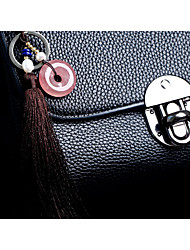 Bag / Phone / Keychain Charm Crystal / Rhinestone Style Tassel Cartoon Toy Crystal Polyester 21CM