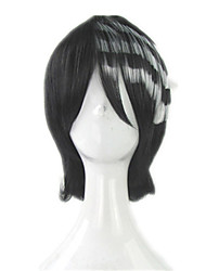 Cosplay Wigs SoulEater Death the Kid Anime/ Video Games Cosplay Wigs 35 CM Heat Resistant Fiber Unisex