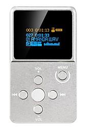De alta fidelidadPlayerNo Conector 3.5mm Tarjeta Micro SD 64GBdigital music playerBotón