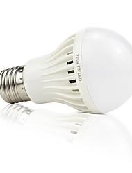 4.5W Ampoules LED Intelligentes 22 SMD 2835 420 lm Blanc Audio-activé Décorative Contrôle de la lumière Commande Vocale AC220 V E27