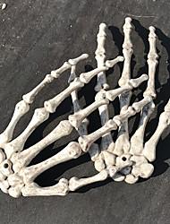 3PC Halloween Mask Terror Halloween Props Skulls Skeleton Hand Claw Decorative Supplies Haunted House Ghost Horror Bar Scene Props