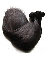 cheveux naturels et soyeux en soie droite 6bundles 600g lot de vente pour la tête de deux filles en train de tisser les meilleures