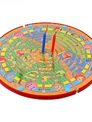 brinquedos para crianças brinquedos magnéticos caneta de madeira labirinto bebê infantil infância voando xadrez jj7701-0518