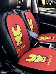 homem de ferro herói de desenho animado assento de carro assento assento de tampa do assento quatro estações gerais rodeado por um apoio