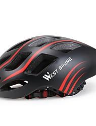 West biking Herrn Damen Fahhrad Helm 17 Öffnungen Radsport Radsport Ski fahren Fahhrad M: 55-58cm